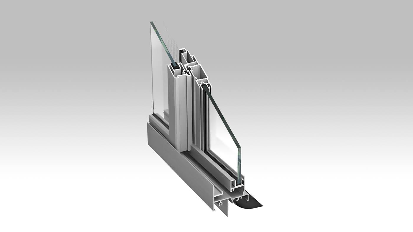 Residential sliding window