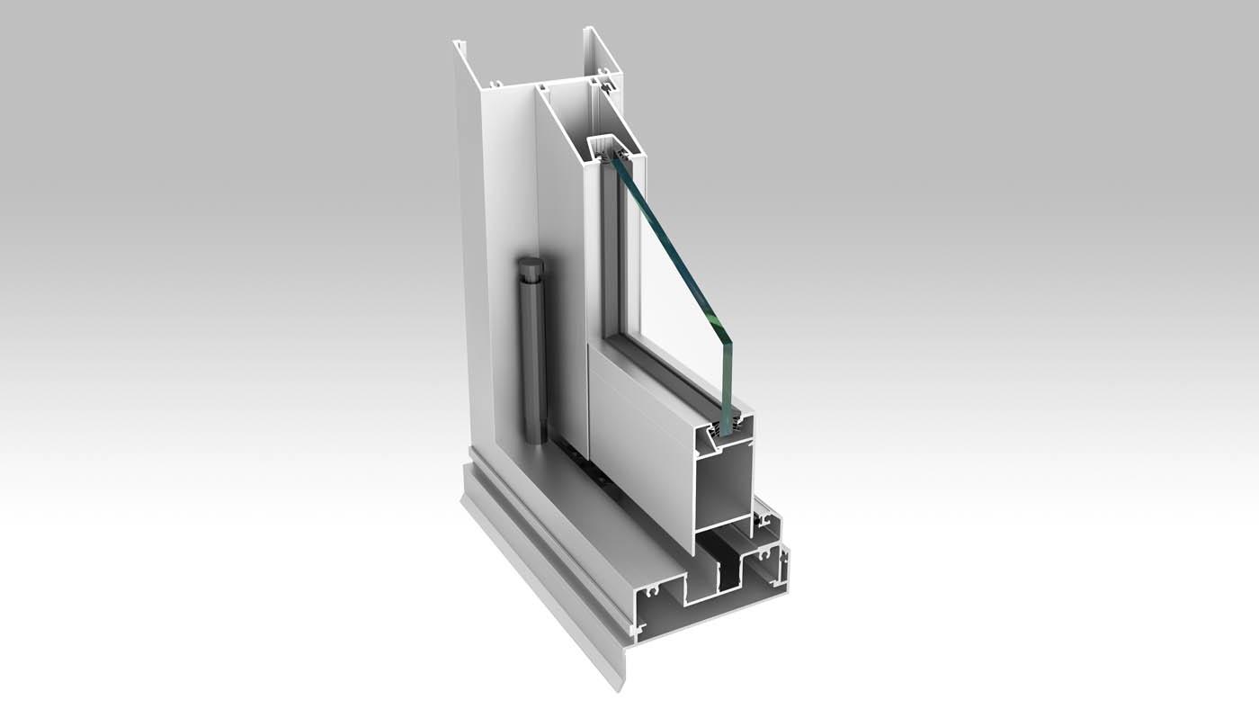 Aluminium Bifold Door