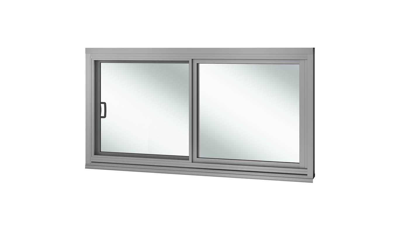 Commercial sliding window