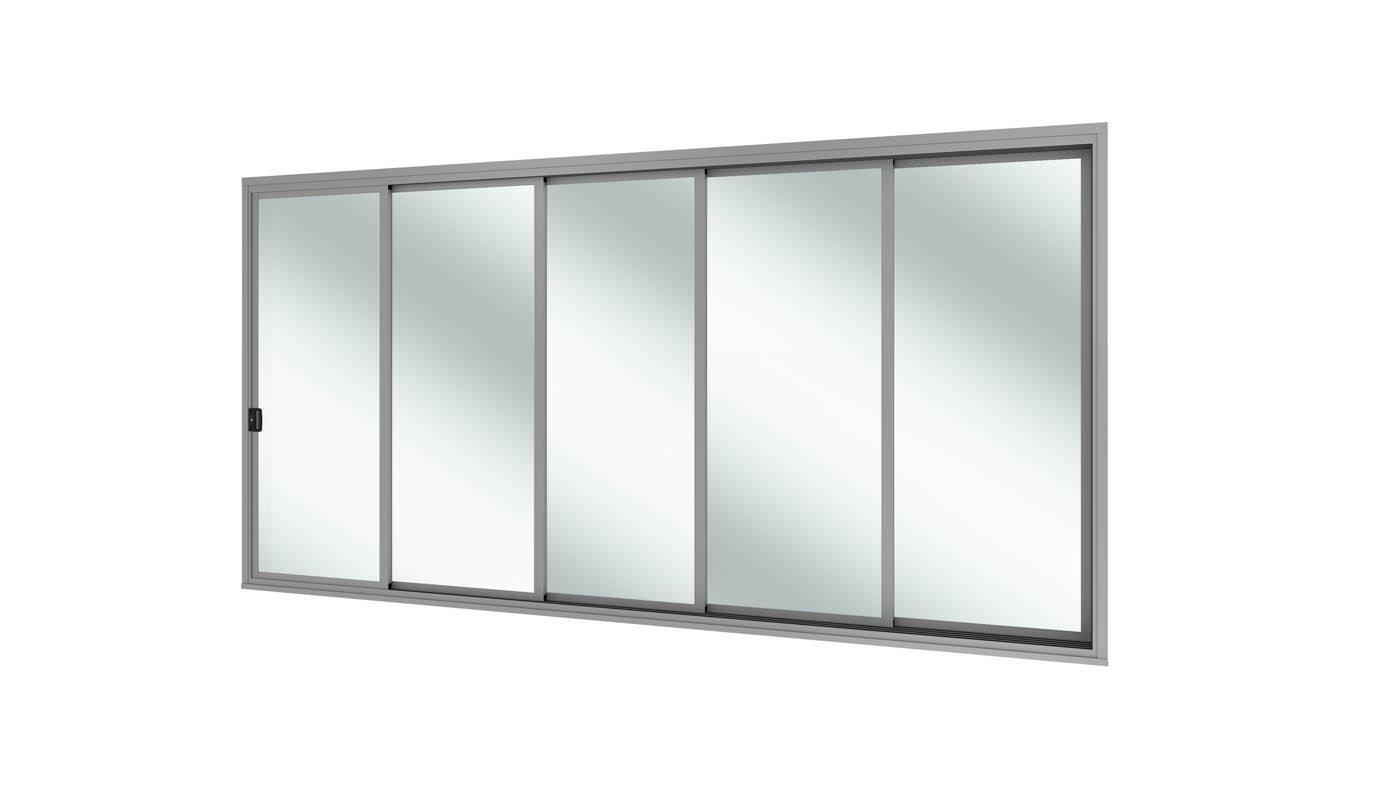 Aluminium Stacker Door