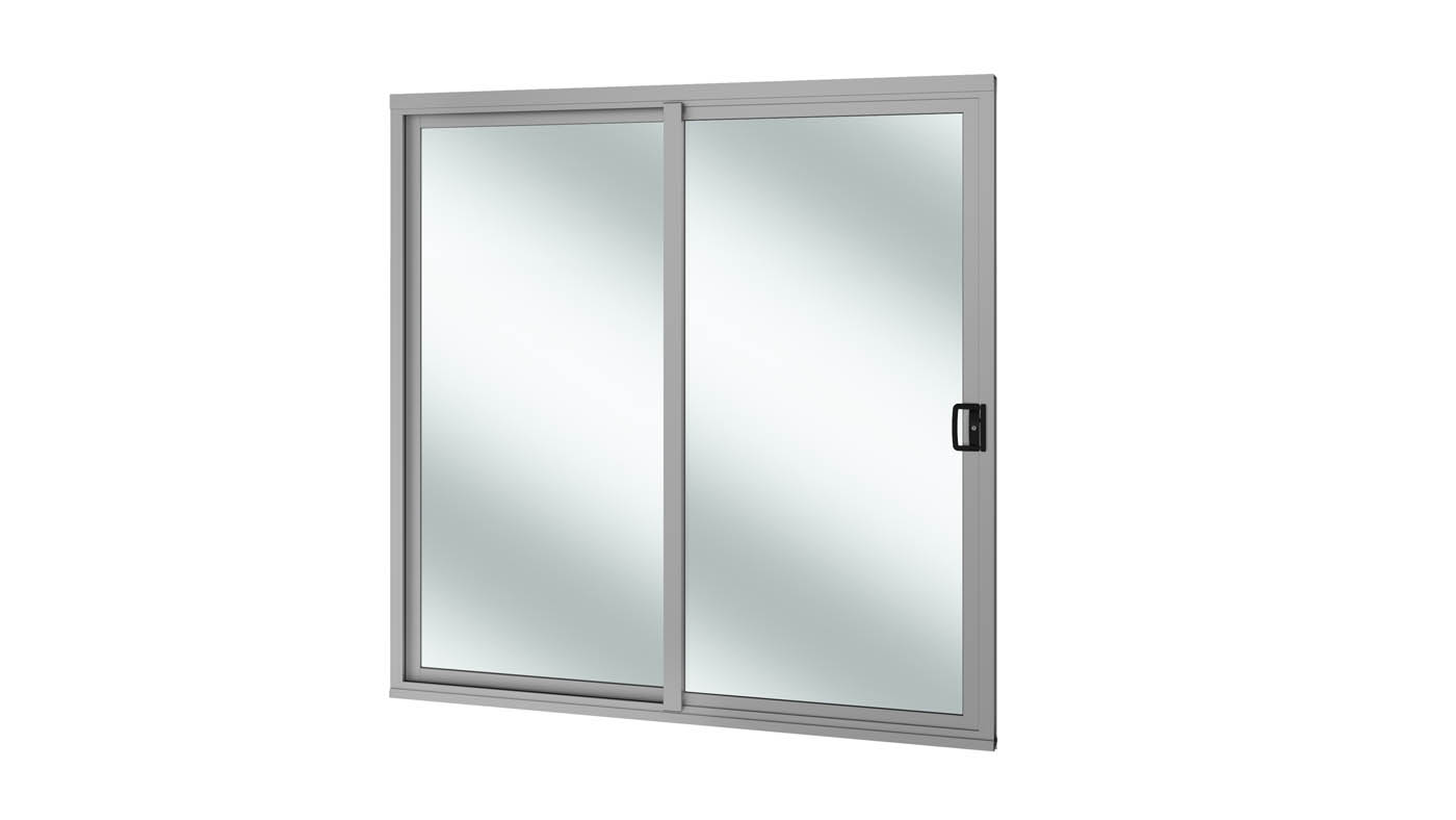Semi-commercial sliding door